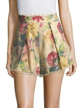 Melody High Rise Shorts by Zimmermann