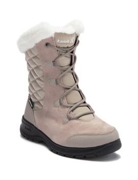 Boston Faux Fur Hiking Boot by Kamik