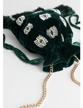 Jewel Eye Tassel Crossbody Bag by & Other Stories
