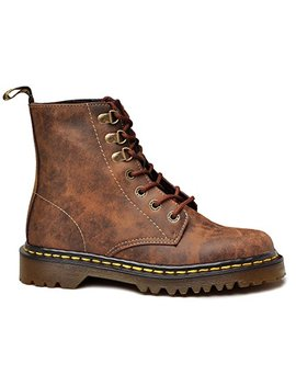 Dr. Martens Women's Luana Lace Up Boots,Brown,3 Uk / 5 Us M by Dr.+Martens