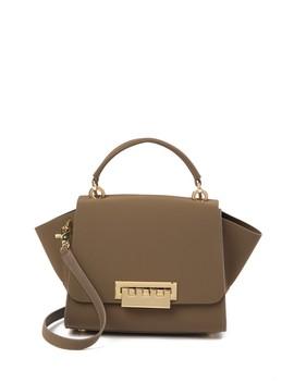 Eartha Leather Top Handle Crossbody Bag by Zac Zac Posen