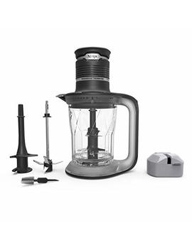 Ninja Ultra Prep Food Processor And Blender With Lightweight 700 Watt Power Pod For Dough, Smoothies, Chopping, Blending (Ps101), Black/Clear by Ninja