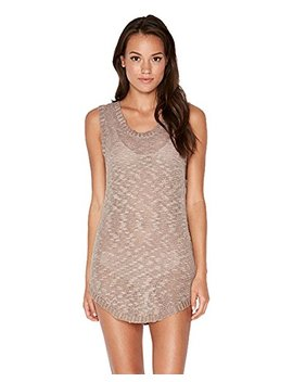 L Space Women's Threads Coastline Tank Top Dress Swim Cover Up by L*Space