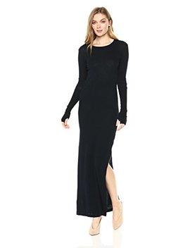 Enza Costa Women's Cashmere Side Slit Maxi Dress by Enza Costa
