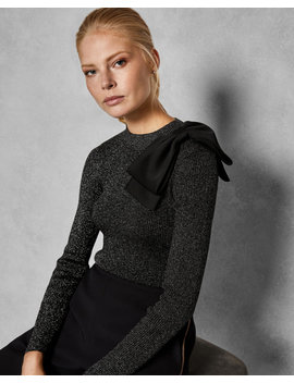 Pullover Mit Statement Schleife by Ted Baker