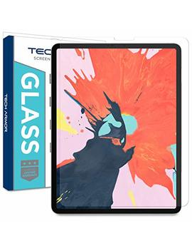 Tech Armor Ballistic Glass Screen Protector Designed For Apple I Pad Pro 12.9 Inch 2018 (Compatible With Face Id And Apple Pencil) [1 Pack] by Tech Armor