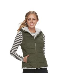 Women's Be Boundless Hooded Reversible Vest by Kohl's