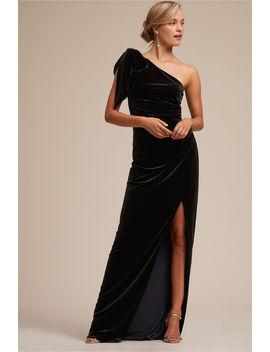 Dallas Velvet Dress by Bhldn