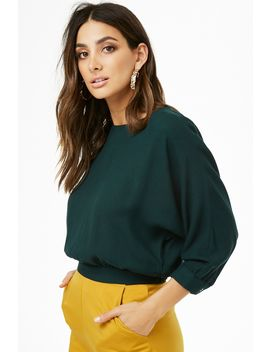 Dolman Sleeve Top by Forever 21