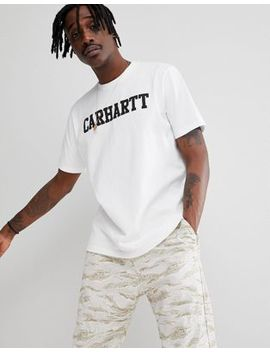 Carhartt Wip College T Shirt I Vitt by Asos