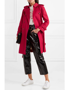 Cotton Trench Coat by Marc Jacobs