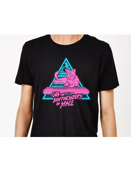 Katzen Auf Synthesizer Im Raum   Neon T Shirt by Etsy