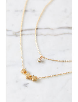 La Hearts Stellar Star Necklace Pack by Pacsun