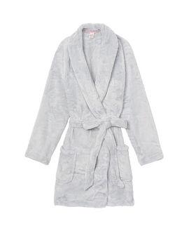 Cozy Plush Short Robe by Victoria's Secret