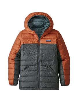 Reversible Down Hooded Sweater   Boys' by Patagonia