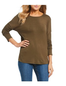 Long Sleeve Knot Back Tee by Gb