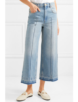 Cabrio Cropped High Rise Wide Leg Jeans by Isabel Marant Étoile