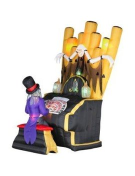 Master Organ Halloween Airblown Inflatable By Gemmy by Amazon