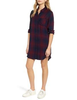 Bianca Flannel Shirtdress by Rails