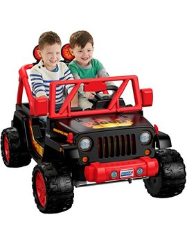 Power Wheels Tough Talking Jeep Wrangler by Power Wheels