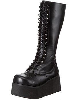 Pleaser Demonia Men's Trashville 502 Lace Up Boot by Pleaser