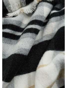 Трёхцветный шарф в клетку by Mango