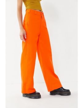 Dickies High Rise Wide Leg Work Pant by Dickies