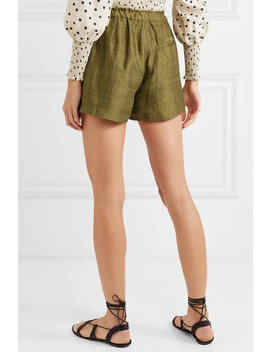 Natty Silk Canvas Shorts by Rhode Resort