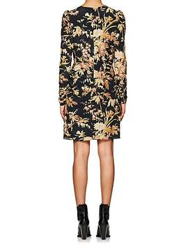 Floral Silk Blend Minidress by Zimmermann