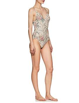 Bayou Floral One Piece Swimsuit by Zimmermann