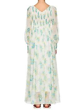 Whitewave Floral Silk Maxi Dress by Zimmermann