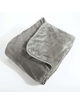 Brookstone Nap Weighted Blanket, One Size, Grey by Brookstone