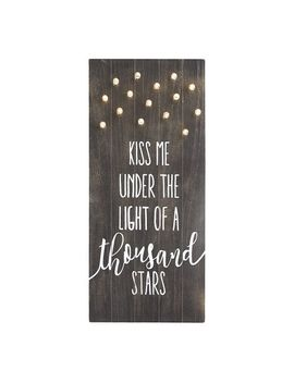 Led Light Up Kiss Me Wall Decor by Pier1 Imports