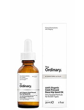 The Ordinary 100 Percents Organic Cold Pressed Rose Hip Seed Oil 30ml by The Ordinary