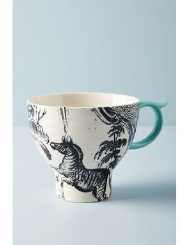 Menagerie Mug by Anthropologie