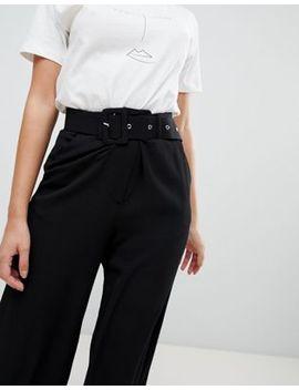 Vila Belted Wideleg Pants by Vila