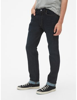 Thermolite® Jeans In Straight Fit With Gap Flex by Gap