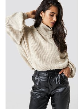 Oversized Ballon Sleeve Knit by Chloé X Na Kd