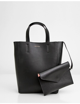 Wild Romance   Leather Tote by Belle & Bloom