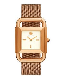 Phipps Rose Goldtone Mesh Watch by Tory Burch