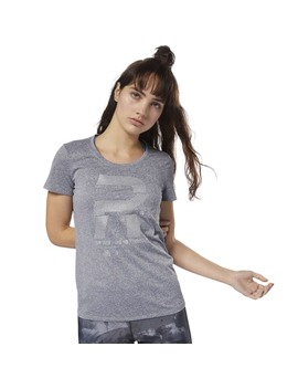 Running Reflective Graphic Tee by Reebok