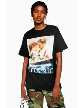Titanic Poster T Shirt by Topshop