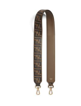 Strap You Ff Embossed Calfskin Leather Guitar Bag Strap by Fendi