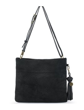 Collective Tomboy Embossed Convertible Cross Body Bag by The Sak
