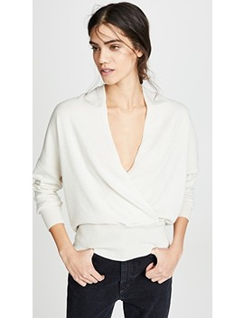 Cashmere Wrap Sweater by Nili Lotan