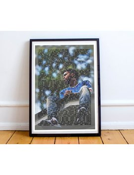 J Cole Love Yourz Lyric Poster Artwork J.Cole by Etsy