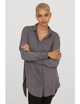 Twill Overhemdblouse by H&M