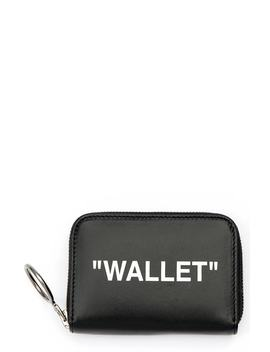 Medium Leather Wallet by Off White