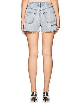 Helena Distressed Denim Cutoff Shorts by Grlfrnd