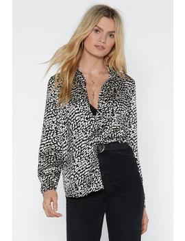 Claw And Order Leopard Shirt by Nasty Gal
